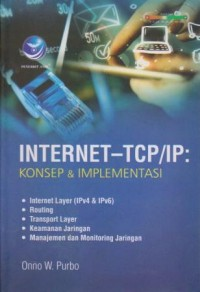 Image of Internet-TCP/IP: Konsep & Implementasi